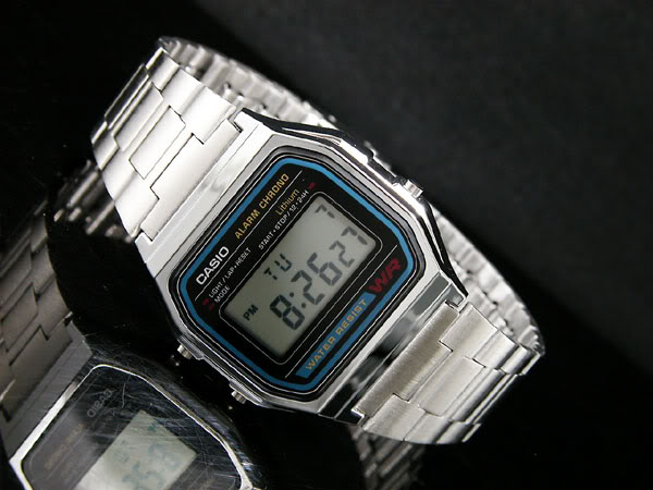 how to adjust casio watch band a158